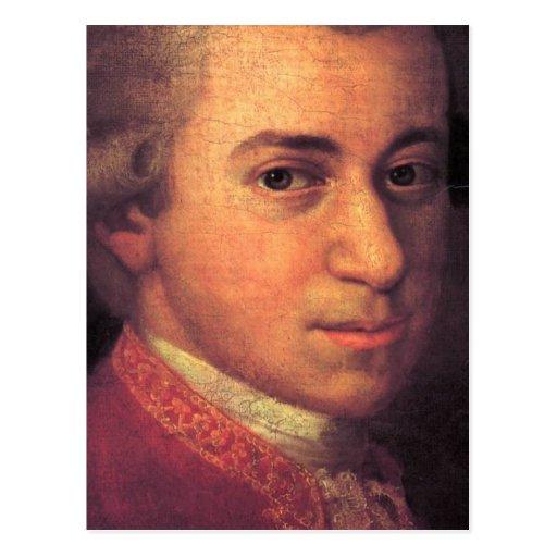 Wolfgang Amadeus Mozart Post Cards