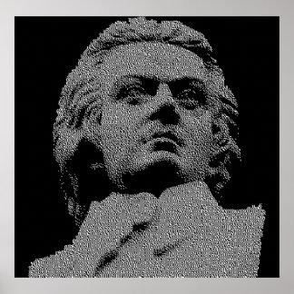 Wolfgang Amadeus Mozart Póster