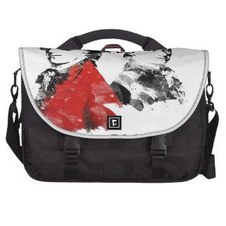 Wolfgang Amadeus Mozart Punk Laptop Messenger Bag
