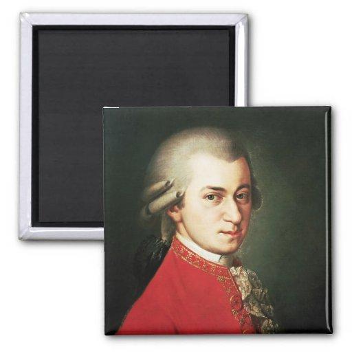 Wolfgang Amadeus Mozart Refrigerator Magnets