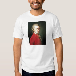 Wolfgang Amadeus Mozart Remera