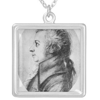 Wolfgang Amadeus Mozart Silver Plated Necklace