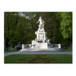 Wolfgang Amadeus Mozart Statue Postcards