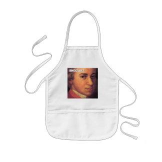 Wolfgang Amadeus Mozart Stuff Kids' Apron