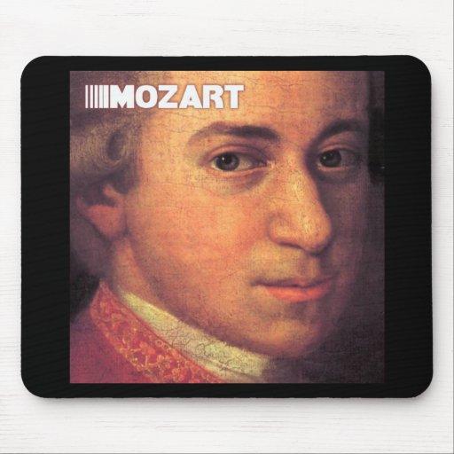 Wolfgang Amadeus Mozart Stuff Mouse Pads