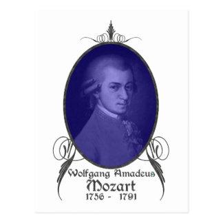 Wolfgang Amadeus Mozart Postal