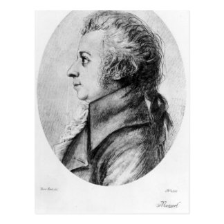 Wolfgang Amadeus Mozart Tarjeta Postal