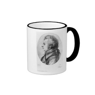 Wolfgang Amadeus Mozart Taza De Dos Colores
