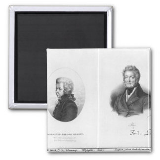 Wolfgang Amedeus Mozart y Ferdinando Paer Imán
