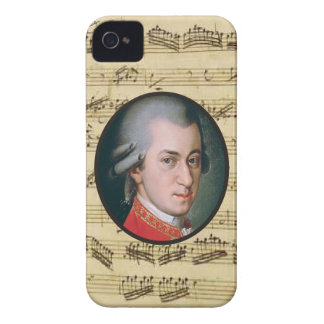 Wolfgang Mozart Electonics Cases and Skins iPhone 4 Case