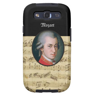 Wolfgang Mozart Electonics Cases and Skins Galaxy SIII Case