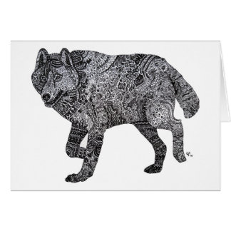 WolfGang Note Card