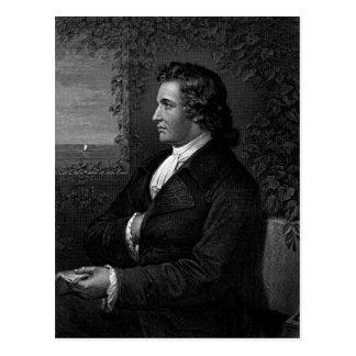 Wolfgang von Goethe Postcard