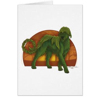 Wolfhound Cù Sìth Card