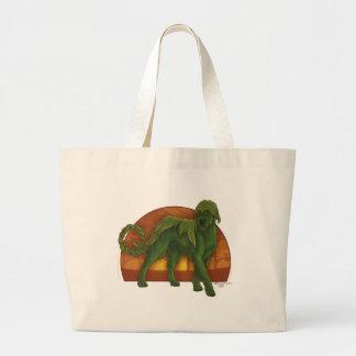 Wolfhound Cù Sìth Large Tote Bag