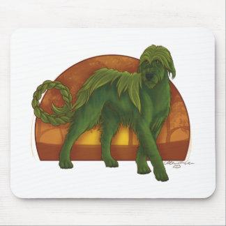 Wolfhound Cù Sìth Mouse Pad