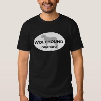 Wolfhound Grandpa T-shirt