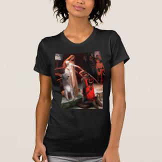 Wolfhound irlandés 1 - el abrazo camiseta