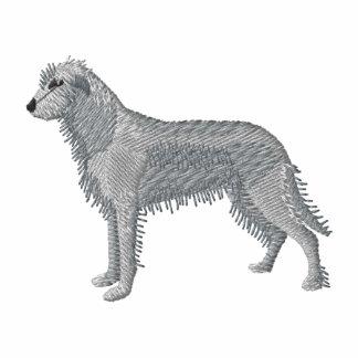 Wolfhound irlandés chamarra de deporte bordada