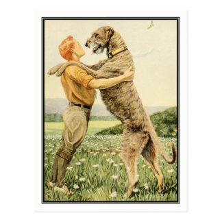 Wolfhound irlandés de Louis Agassiz Fuertes Postales