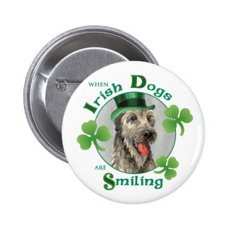 Wolfhound irlandés del día de St Patrick Pin