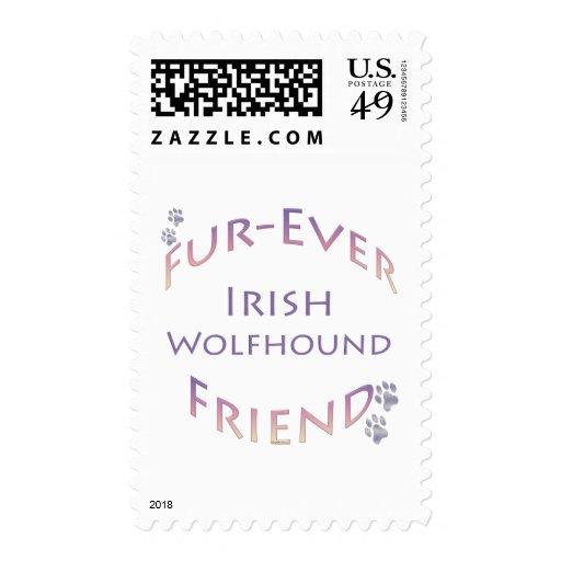 Wolfhound irlandés Furever Sellos