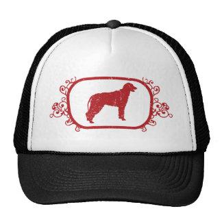 Wolfhound irlandés gorras de camionero
