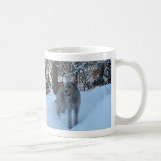 Wolfhound irlandés taza de café