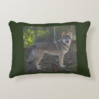 Wolfhybrid Decorative Pillow