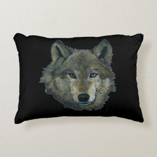 Wolfie Accent Pillow