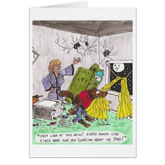 WOLFIE  valentine or anniversary card