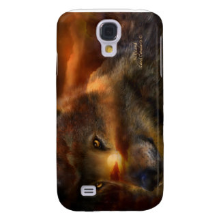 WolfLand Art Case for iPhone 3 Galaxy S4 Cases