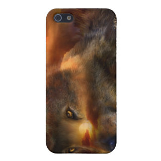 WolfLand Art Case for iPhone 4