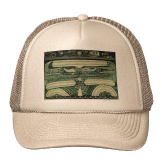 Wölfli 'Petrol' Fine Art Trucker Hat