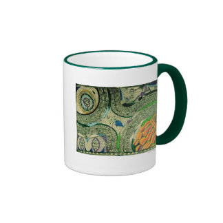 """Wölfli """"Saint Mary Castle"""" Fine Art Ringer Coffee Mug"""