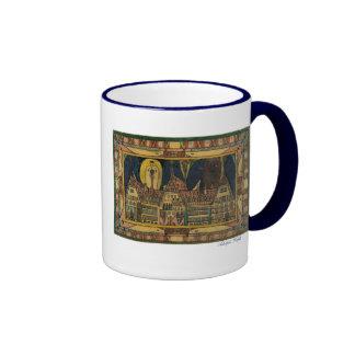 """Wölfli """"Waldau"""" Fine Art Ringer Coffee Mug"""