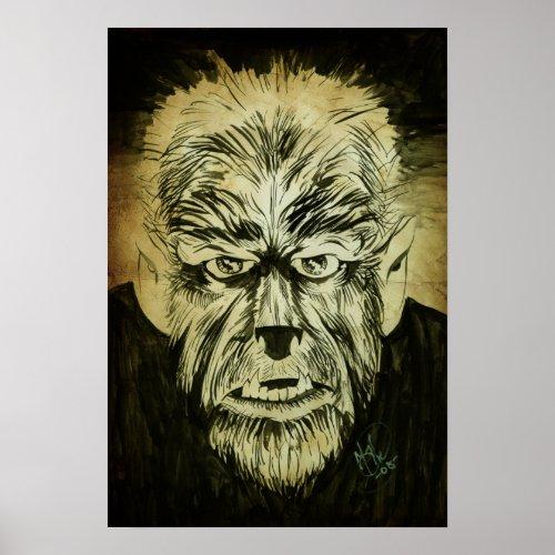 Wolfman print