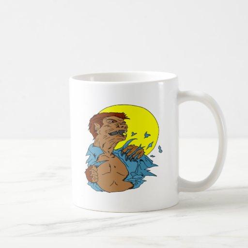 Wolfman Tazas De Café
