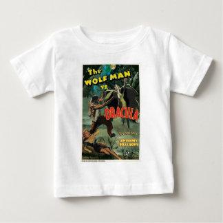 WOLFMAN VS DRACULA by Philip J. Riley Baby T-Shirt