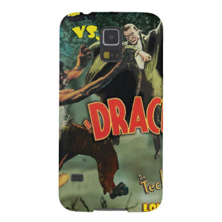 WOLFMAN VS DRACULA by Philip J. Riley Cases For Galaxy S5