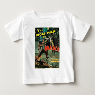 WOLFMAN VS DRACULA by Philip J. Riley Infant T-shirt