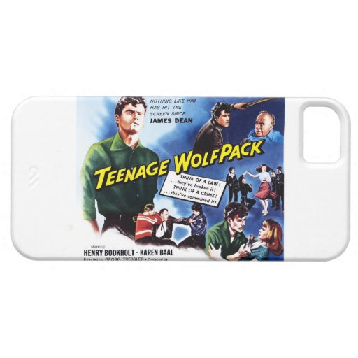 Wolfpack adolescente iPhone 5 Case-Mate cárcasas