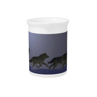Wolfpack Beverage Pitcher