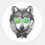 Wolfpack Classic Round Sticker