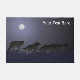 Wolfpack Doormat
