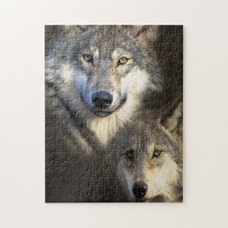 Wolfpack jigsaw puzzle