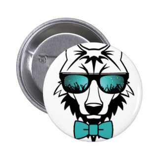 Wolfpack Pinback Button