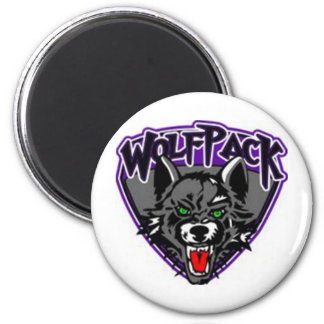 Wolfpack Products 2 Inch Round Magnet