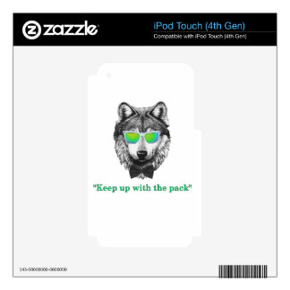 Wolfpack Skins For iPod Touch 4G
