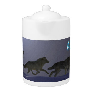 Wolfpack Teapot
